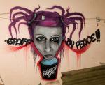 Raul Salvatierra. Graffiti