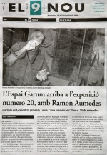 Ramon Aumedes i EspaiGarum a EL9NOU