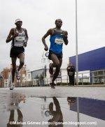 Samuel Wanjiru gana la Mitja Marató de Granollers 2009
