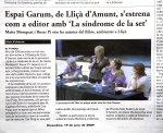 Maite Mompart, Roser Pi y Espai Garum en EL9NOU