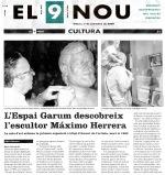 Máximo Herrera i Espai Garum a EL9NOU
