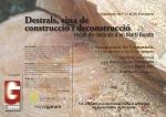 Visita de Obra. Martí Boada exposa Destrals, eina de construcció i deconstrucció