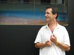 Stefano Puddu inaugura «Vent endins» a l'Espai Garum