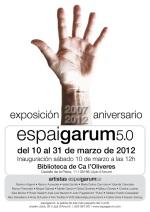 Quinto aniversario de Espai Garum. 10 de marzo de 2012