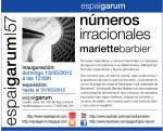 Mariette Barbier expone en Espai Garum