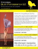 Sessió de NU organitzada per l'Espai Garum i la Biennal Olot Fotografia