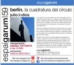 """Julio de Dios expone """"Berlín. La cuadratura del círculo"""" en Espai Garum"""