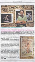 La Revista del Vallès publica la exposición de Màrius Gómez