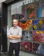 Carles Sitjar inaugura l'exposició «Metamorphoseon» a l'Espai Garum