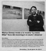 La Meva Mitja de Màrius Gómez surt a EL 9 NOU