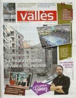 Màrius Gómez a la portada de La Revista del Vallès