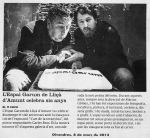 Carles Bros i Espai Garum a El 9 Nou pel sisè aniversarii