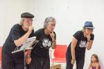Recital de poesia de Joana Raspall a càrrec del grup «Para bé l'Orella»