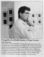 Pasquale Caprile i Espai Garum noticia a EL9NOU