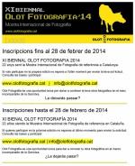 XI Biennal Olot Fotografia 2014 inscripcions fins al 28 de febrer