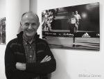 Josep Prims inaugura «la meva Mitja, Impossible is Nothing» a l'Espai Gralla de Granollers