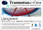 """Màrius Gómez participa al Tramuntanart 2014 amb """"Llançàvent"""""""