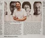 l'exposició «Retrats de riure» de Màrius Gómez surt a EL9NOU