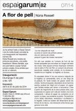 Núria Rossell exposa «A flor de pell» a l'Espai Garum