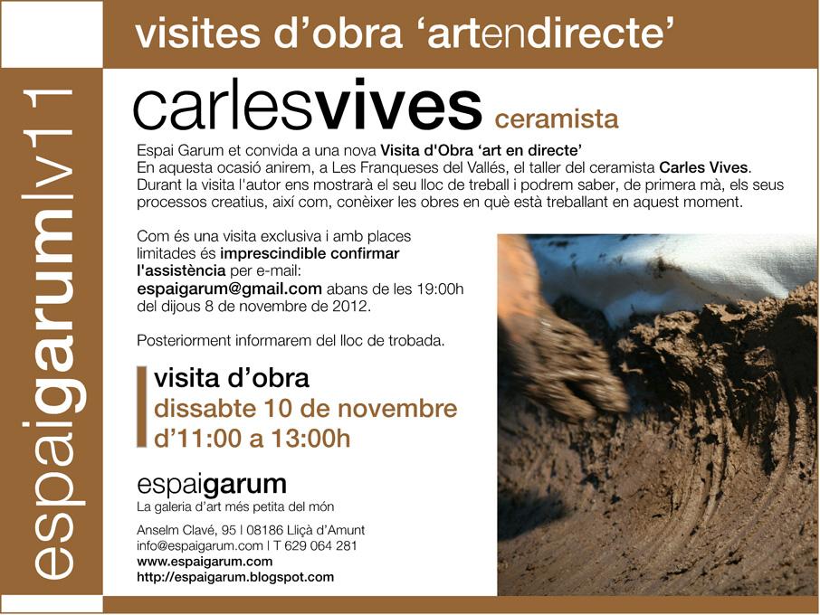 Visita dObra CarlesVives