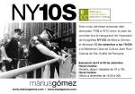 Màrius Gómez inaugura NY10S el dimecres 10 de setembre