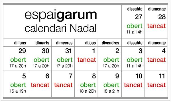 calendari nadal 2014 venta fb