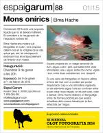 Elma Hache, primera exposició del 2015