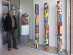 Avui hem inaugurat «Conexions» del ceramista Albert Cubells