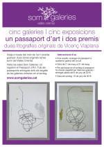 Som Galeries et regala dues litografies de Vicenç Viaplana