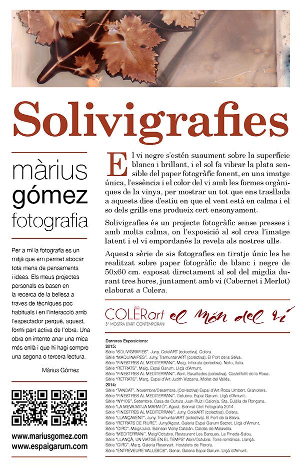 Solivigrafies colerart cartell